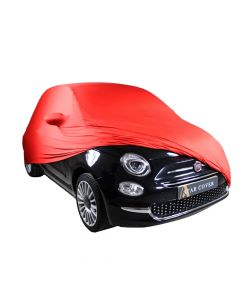 Indoor carcover Fiat 500 with mirrorpockets