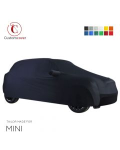 Custom tailored indoor car cover Mini Paceman with mirror pockets