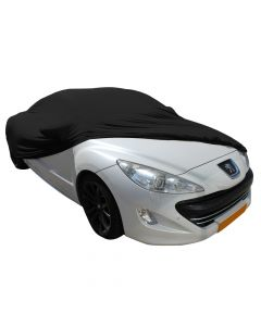 Indoor carcover Peugeot RCZ with mirrorpockets