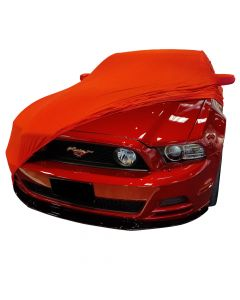 Indoor car cover Ford Mustang 5 with mirror pockets