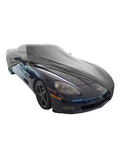 Indoor carcover Chevrolet Corvette C6 with mirrorpockets
