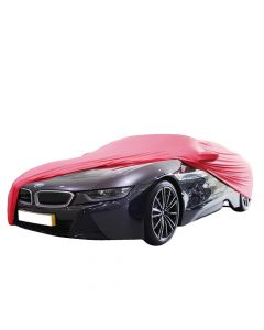 Indoor carcover BMW i8 with mirrorpockets