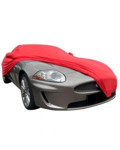 Indoor autohoes Jaguar XK-150 met spiegelzakken