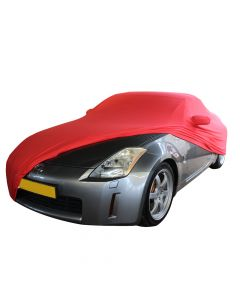Indoor carcover Nissan 350Z with mirrorpockets