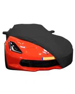 Indoor carcover Chevrolet Corvette C7 with mirrorpockets