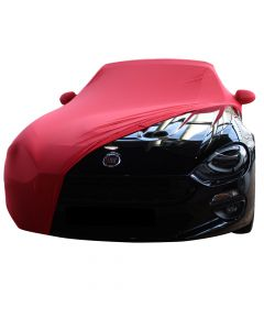 Indoor car cover Fiat 124 Spider with mirror pockets