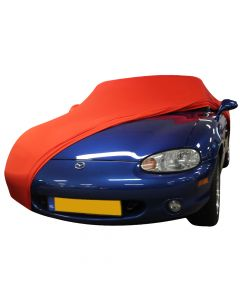 Indoor carcover Mazda MX-5 NB with mirrorpockets