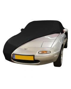 Indoor carcover Mazda MX-5 NA with mirrorpockets