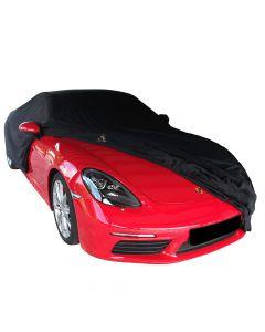 Outdoor autohoes Porsche 718 Cayman met spiegelzakken