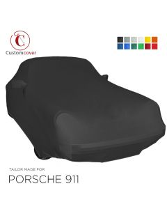 Custom tailored indoor car cover Porsche 911 Urmodell with mirror pockets
