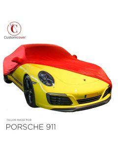 Housse intérieur fait sur mesure Porsche 911 (996) avec manchons de rétroviseurs