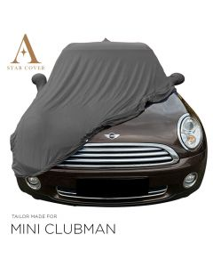 Indoor car cover Mini Clubman R55 with mirror pockets