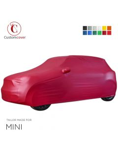 Custom tailored outdoor car cover Mini Clubman with mirror pockets