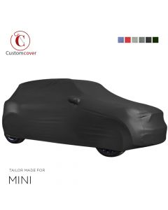 Custom tailored outdoor car cover Mini Paceman with mirror pockets