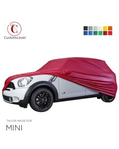 Custom tailored outdoor car cover Mini Countryman with mirror pockets