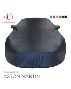 Custom tailored outdoor car cover Aston Martin Rapide with mirror pockets