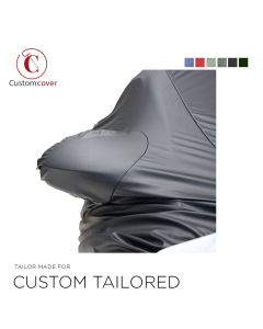Custom tailored outdoor car cover Ferrari 400 with mirror pockets