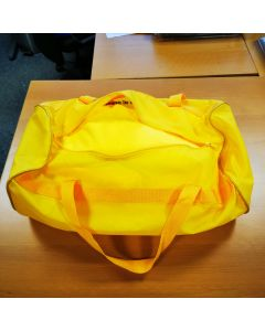 Custom tailored indoor car cover Mazda MX-5 NA Yellow with mirror pockets and print