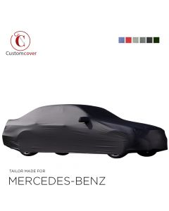 Custom tailored outdoor car cover Mercedes-Benz SLK-Class with mirror pockets