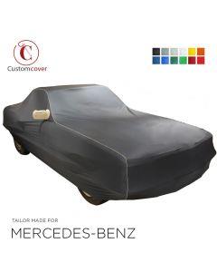 Op maat gesneden indoor autohoes Mercedes-Benz CLA C117 met spiegelzakken